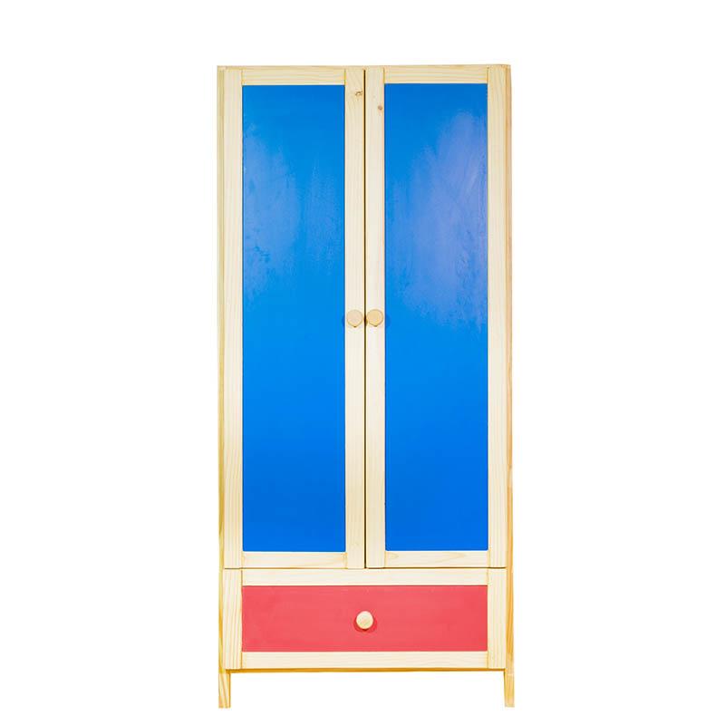 6Ft 2 Door Wardrobe 1