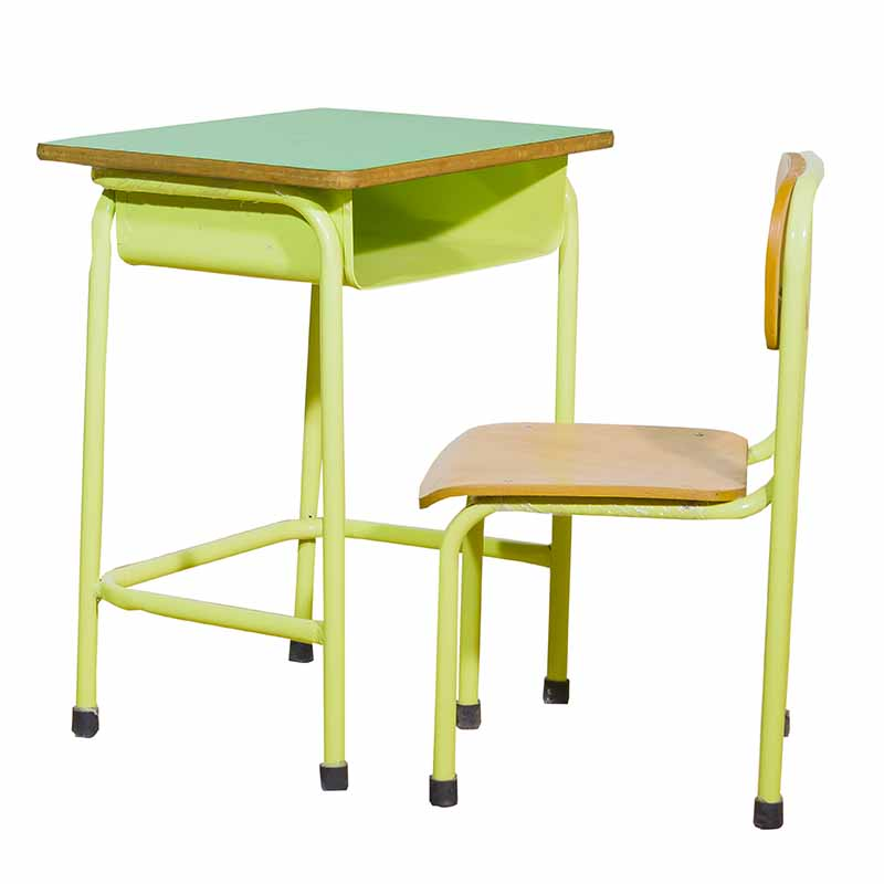 Metal Table + Chair 1