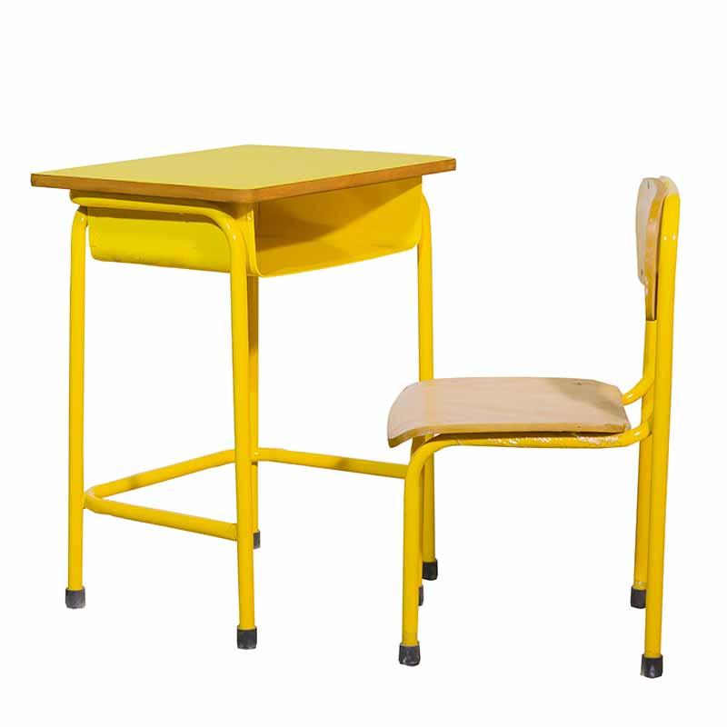 Metal Table + Chair 3