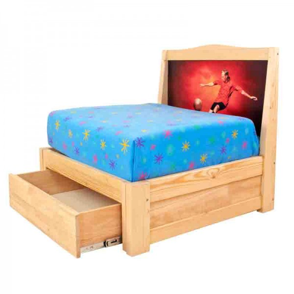 Single pull out bed 2