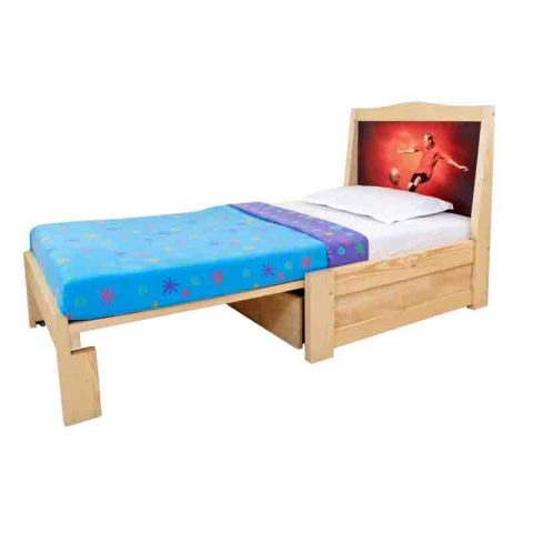 Single pull out bed 3